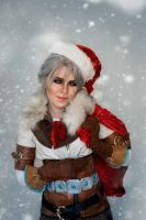 Christmas Ciri by TophWei