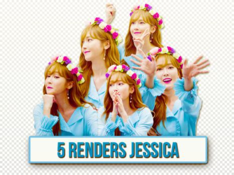 [160606] 5 Renders Jessica by nguyetsone2