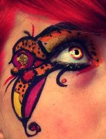Butterfly eye by Kokopa