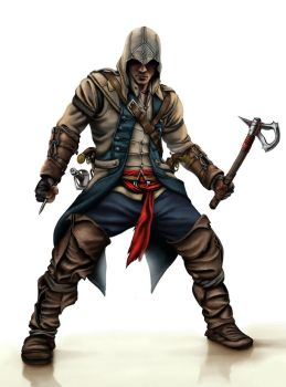 Assassin's Creed Connor by Terribilus