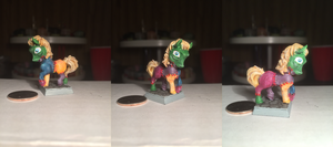 Frankenpony Table-Top Miniature by NPCtendo