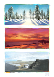 Landscapes by joifish