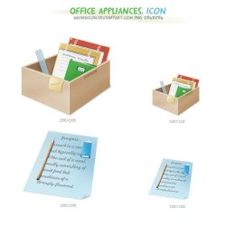 Office appliances by wongicon