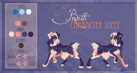 Beth - character sheet by hecatehell
