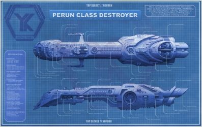 Perun Destroyer - Blueprint by ChrisKuhn