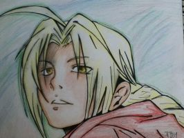 Edward Elric -let it all out by onichan29