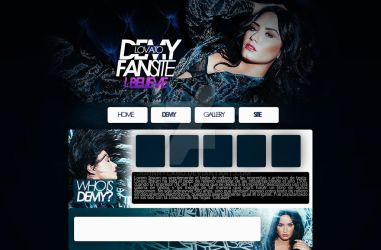 I Believe(Header psd) feat Demi Lovato by JohnnyLand