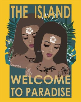 THE ISLAND . WELCOME TO PARADISE by Vic4U