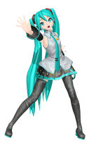 MMD Dreamy Theater Extend: Default Miku by MisakiGalhardo