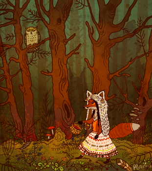 northern forest of fairy tales by Ali-zarina