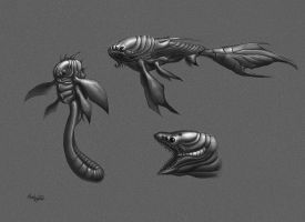 alien fish by dirtyandbroken