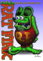 The Fuglies: Rat Fink Tribute by JWraith