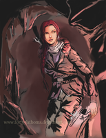 Inspired Sketches #2 - Rise of the Tomb Raider by Forty-Fathoms