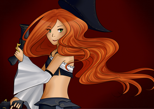 008 - Miss Fortune by Liny-An