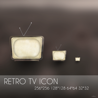 Retro Tv icon by OtherPlanet