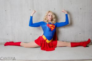 Supergirl split by CanteraImage