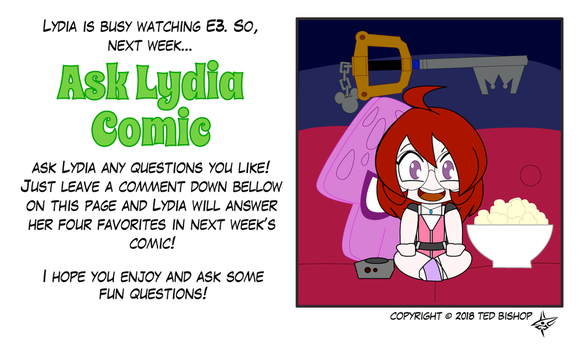 Trader Lydia - E3 + Questions by Dragon-FangX