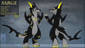 Personal - Sarge Fursuit Ref -2015 by TwilightSaint