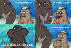 Colonel Hathi Welcome to the Salty Spitoon by Uranimated18