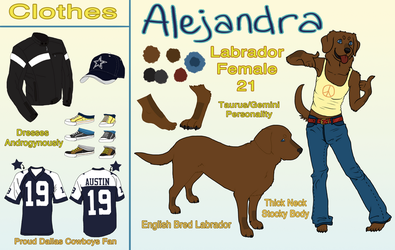 Alejandra Reference 2011 by drunkdrawings