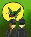 Green Hornet Kato and My OC by BeXxEntertainment