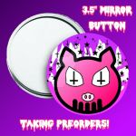 Iso Pigget Mirror Button by JakProjects