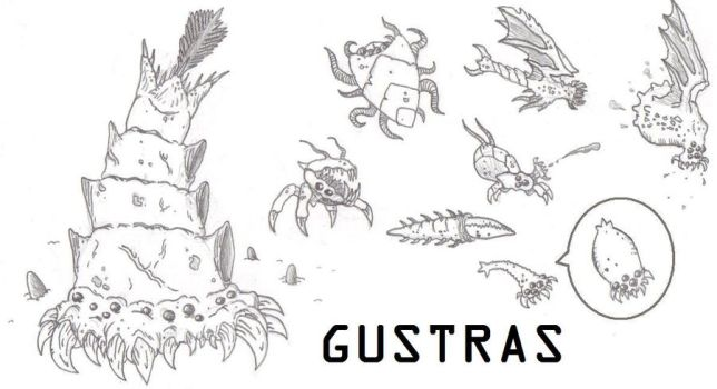 Gustras by DinoHunter2