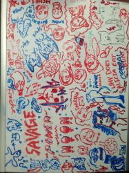 whiteboard by ThatCreativeCat