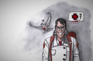 The Medic by Bewilderbeast1