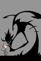 Boy and Shadow by Jack042