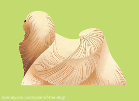 Year of the Dog - Lhasa Apso by Kelgrid