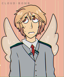 [BNHA OC] hot wings by Cloud-Bomb