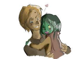 Nott and Caleb by Noodlecuppie