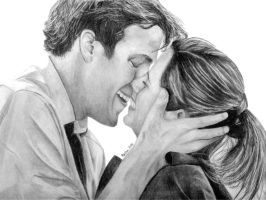 The Office- Jim and Pam by desperate-endeavor
