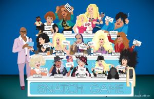 Snatch Game All Stars by dezignjk