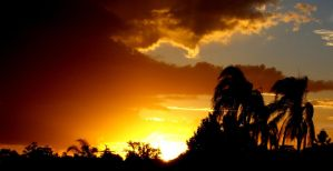 Sunset Storm by CorporalNobbs