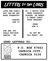 Lords of Kobol - Letters Page by LarryKingUndead