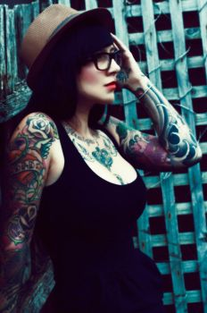 The Tattooist by TrixyPixie