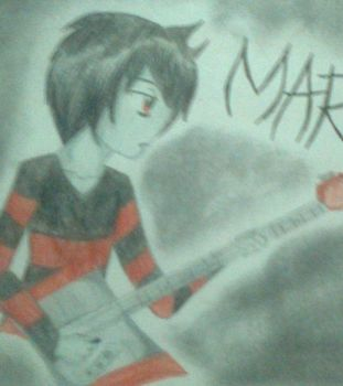 Adventure time- Marshall Lee by Spookytaco99
