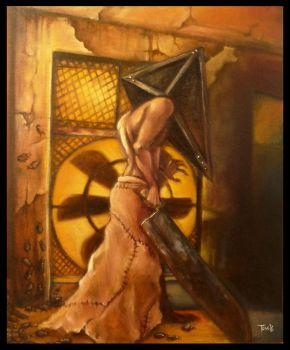 Pyramid head by f0xyme