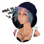 Chloe Price sketch by gaerss
