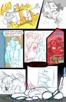 Mechanaflux - Issue 1 - Page 6 Pencils by thescarletspider