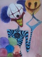 Squiggly the Clown by Thediamondintherough