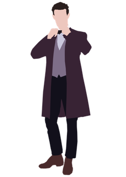 Simple Eleventh Doctor Vector by wherestherain
