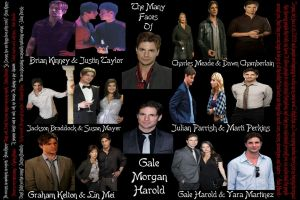 The Many Faces of Gale Harold by VampObsessed