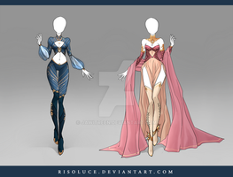 (CLOSED) Adoptable Outfit Auction 105-106 by JawitReen