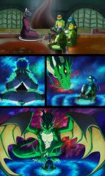 TMNT: Dragons Rising Pg 04 by JazzTheTiger