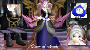 Queen of Spades by Ambientghosty