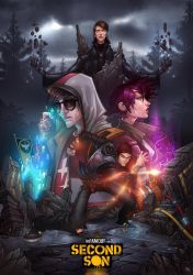 Infamous: Second Son by Bing-Ratnapala