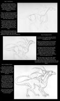 Dragon Drawing Tutorial by EvilYardGnome